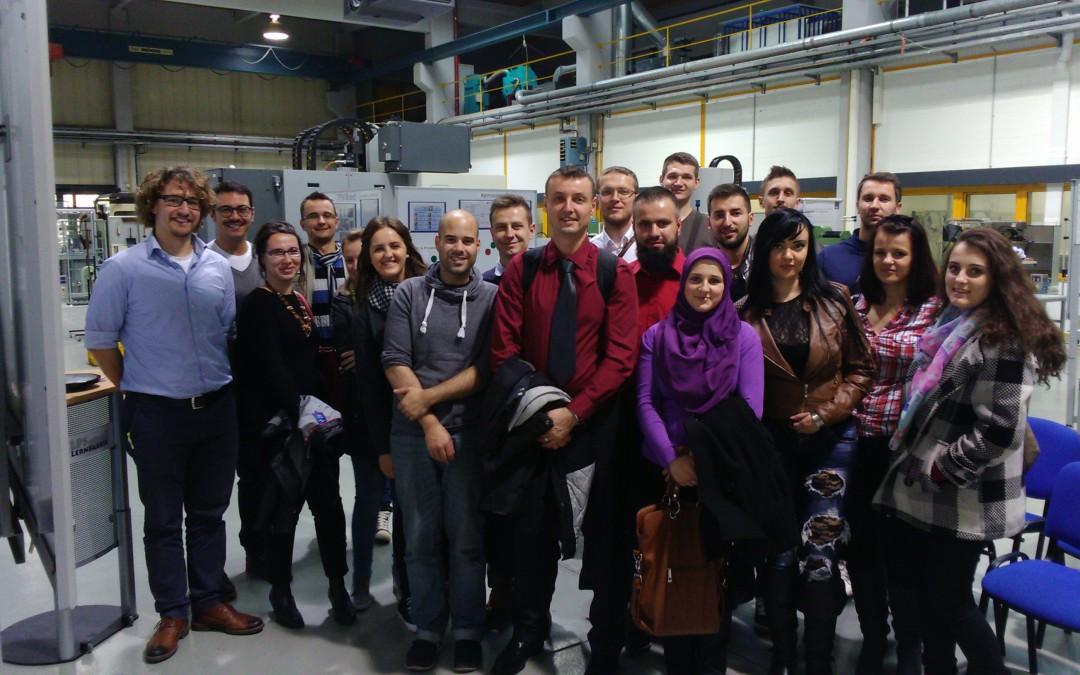 Stručna ekskurzija studenata Mašinskog fakulteta univerzitetima u Njemačkoj