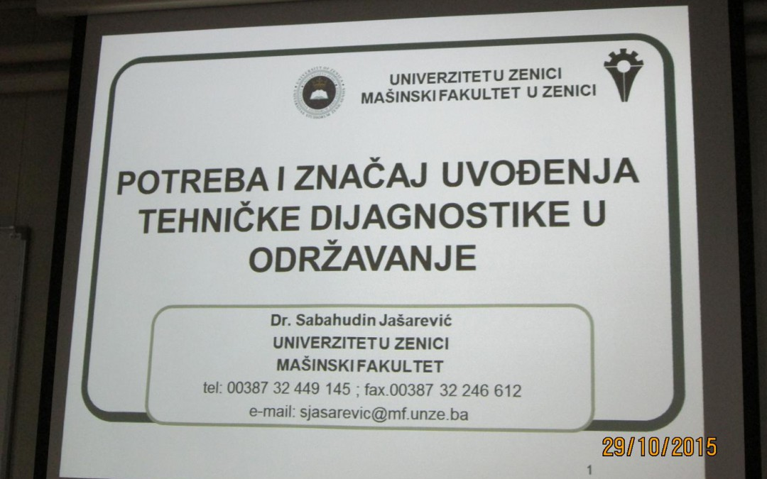 """Jednodnevni seminar """"TEHNIČKA DIJAGNOSTIKA"""""""