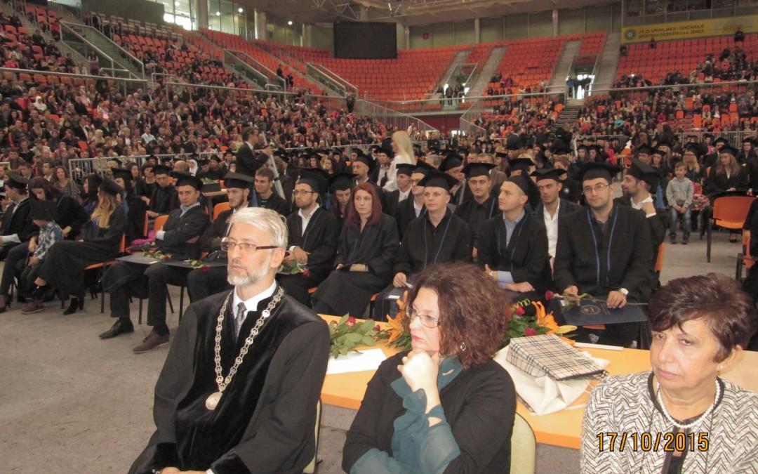 Zajednička promocija svih završenika I i II ciklusa studija na Univerzitetu u Zenici