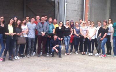 Posjeta studenata odsjeka Ekološko inženjerstvo kompanijama u regiji Srednje Bosne