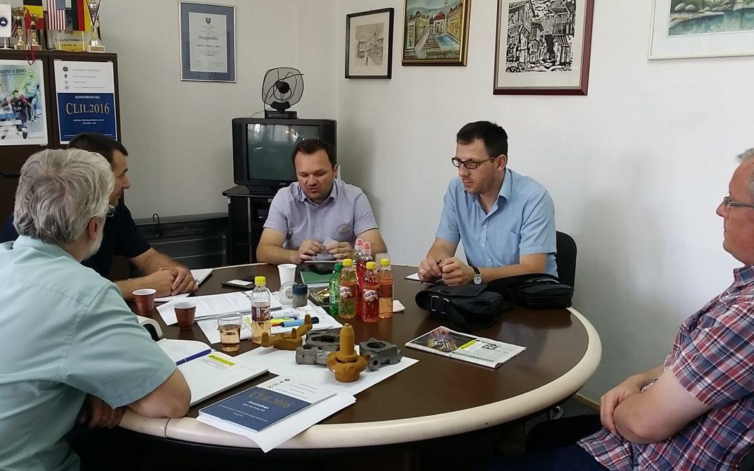 Radni sastanak na temu saradnje Fakulteta i preduzeća Pobjeda Tešanj-Fabrika pumpi i prečistača