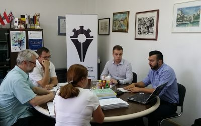 Dr Eddie Custovic (La Trobe University – Australia)  i Almedin Kavaz (predstavnik IEEE za BiH) posjetili MFZE
