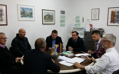 Sastanak sa predstavnicima Deutsche Gesellschaft für Internationale Zusammenarbeit (GIZ) GmbH