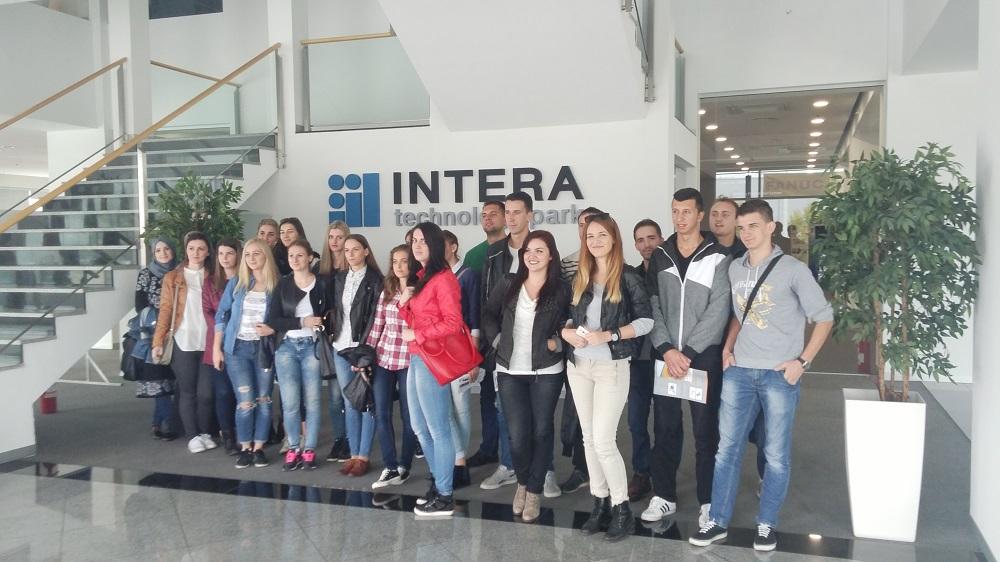Edukativno-stručna posjeta tehnološkom parku INTERA Mostar