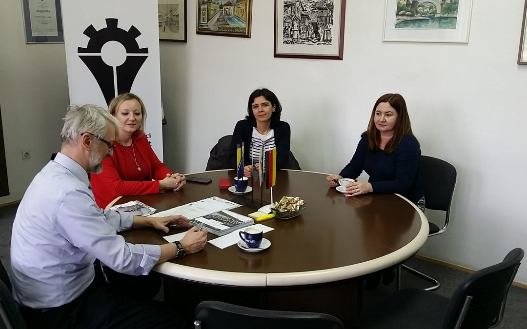 Dr. Ekaterina Klüh – International Office Coordinator East European Programmes (DAAD, ERASMUS +) posjetila MFZE
