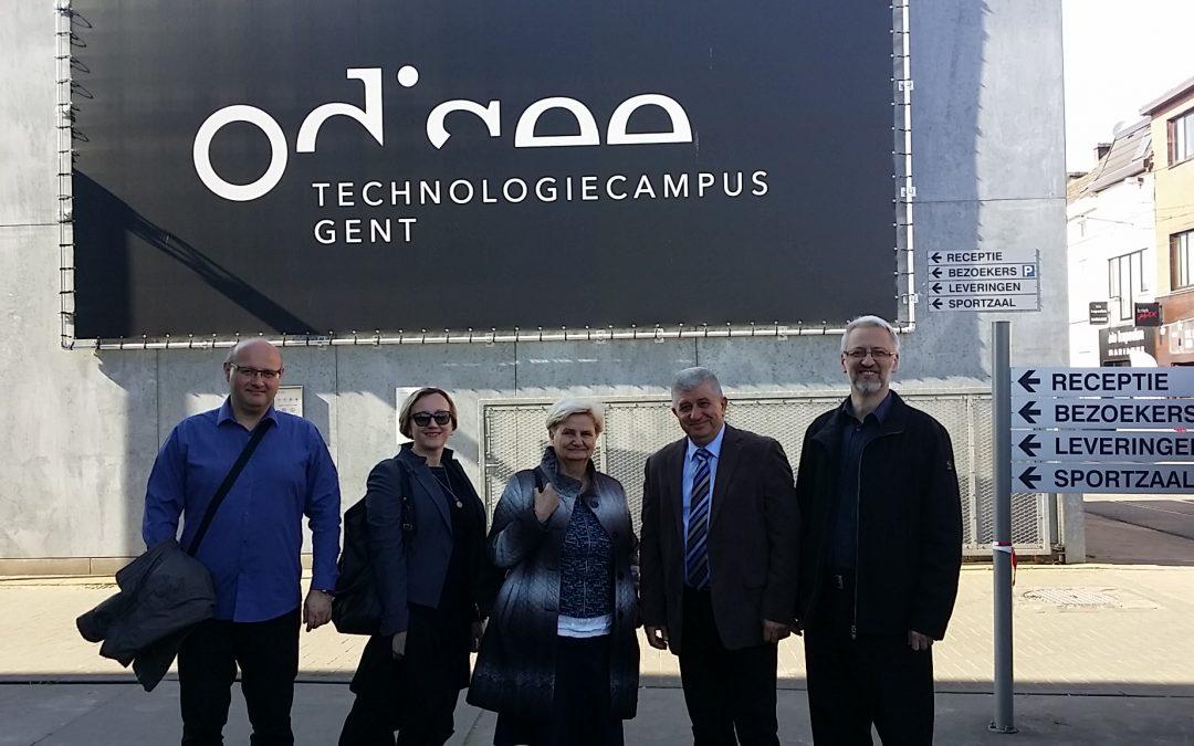 Naučno-stručna posjeta ODISEE Univerzitetu – Belgija