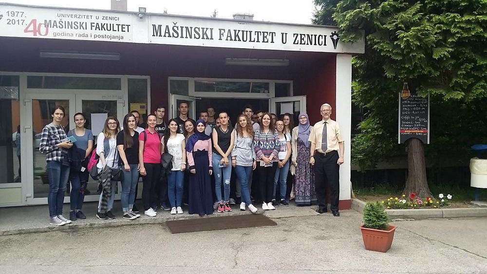 Posjeta učenika srednje Medicinske škole Zenica