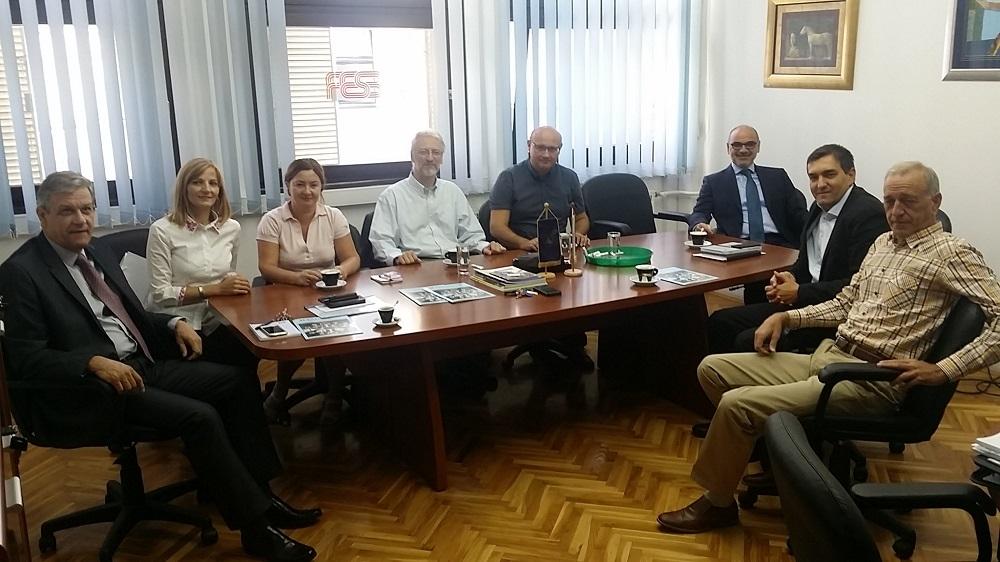 Predstavnici Univerziteta u Zenici i Mašinskog fakulteta Univerziteta u Zenici boravili u radnoj posjeti FESB-u