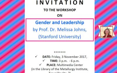 "Najava radionice ""Gender and Leadership"""