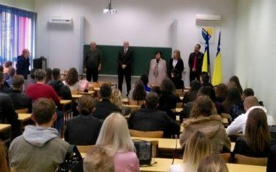 Doček studenata-brucoša na početku akademske 2017/18. godine