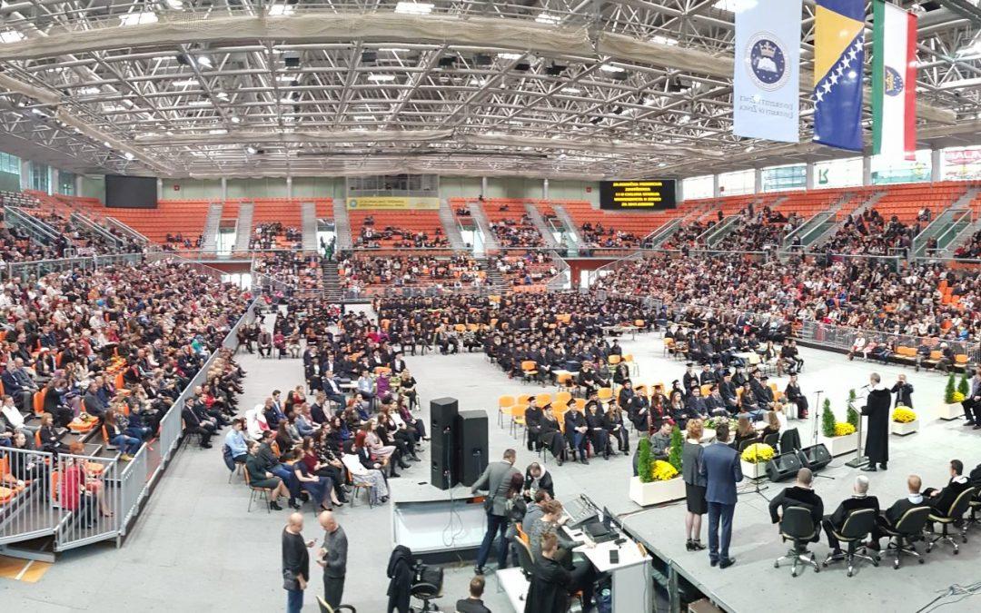 Održana 8. zajednička promocija završenika prvog i drugog ciklusa studija Univerziteta u Zenici