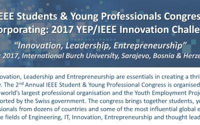Prezentacija IEEE Kongresa za studente i mlade profesionalce BiH 2017