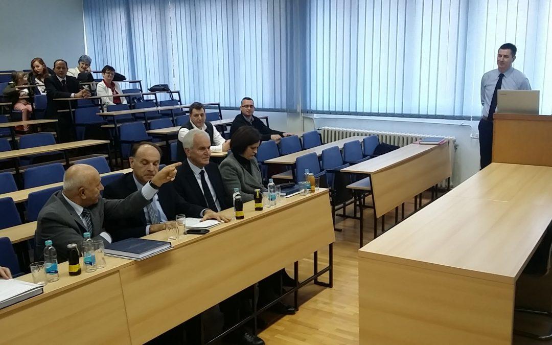 Javna odbrana doktorske disertacije kandidata Mr.Sc. Lisica Alana