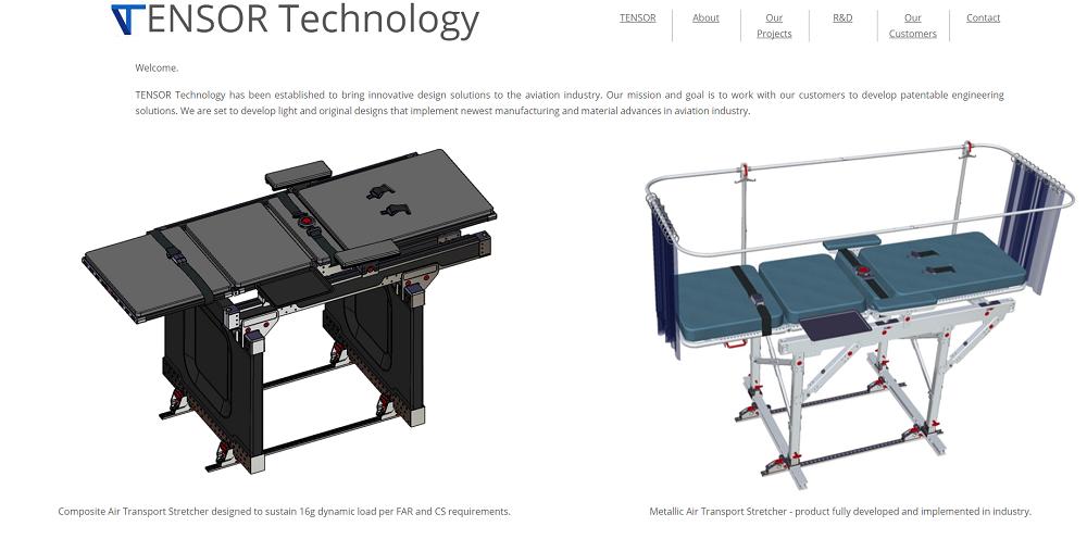 Prezentacija firme TENSOR Technology