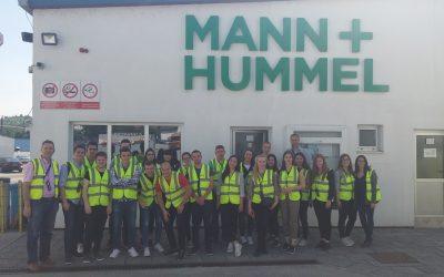 Studentska posjeta metaloprerađivačkim kompanijama i 14. Međunarodnom sajmu privrede Tešanj 2018.